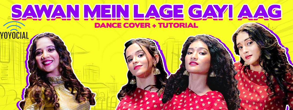 Sawan Mein Lage Gayi Aag Choreography | Cherry Bomb ft. Mehek Mehra | In My Shoes Ep #10