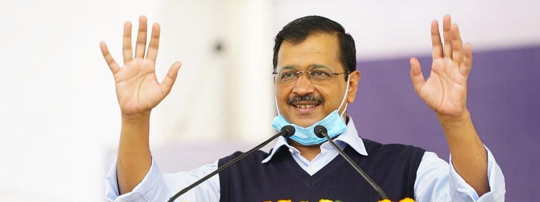 मुख्यमंत्री अरविंद केजरीवाल ने अक्षरधाम में किया दीपावली पूजन, प्रदूषण न फैलाने की अपील