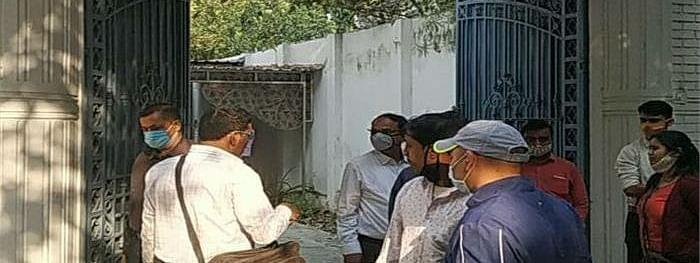 सपा सांसद आजम खान की बहन का घर नगर-निगम ने किया सील
