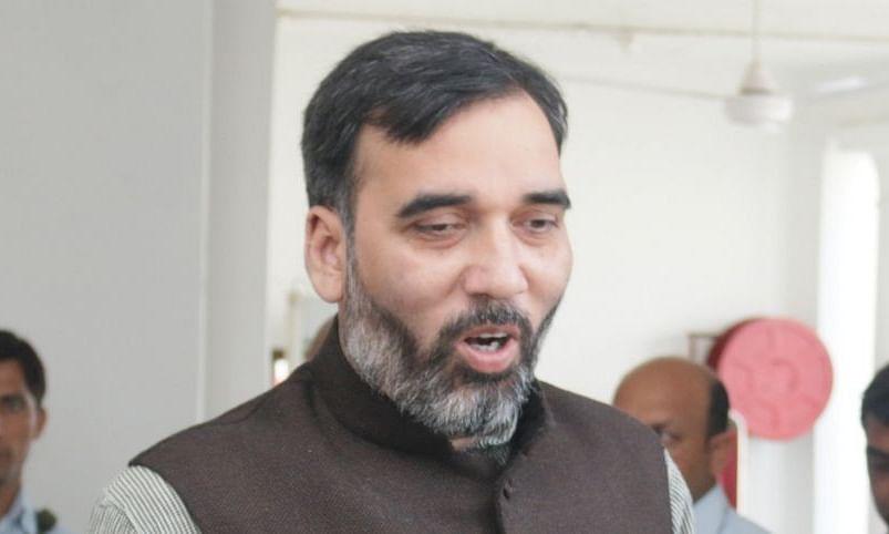 दिल्ली के पर्यावरण मंत्री गोपाल राय कोरोना पॉजिटिव