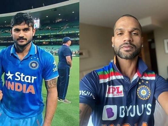 शिखर धवन ने शेयर की सीमित ओवरों के लिए टीम इंडिया की नई जर्सी