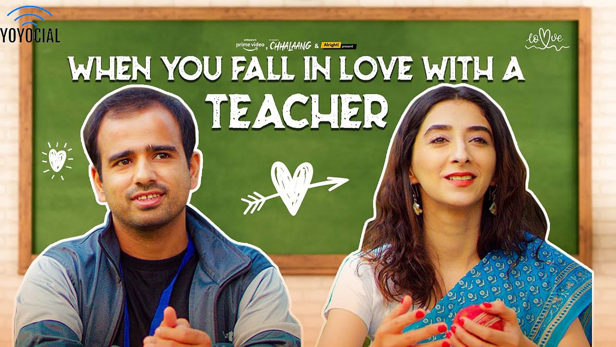 Alright! | When You Fall In Love with a Teacher | Ft. Kritika Avasthi & Gaurav Kapoor