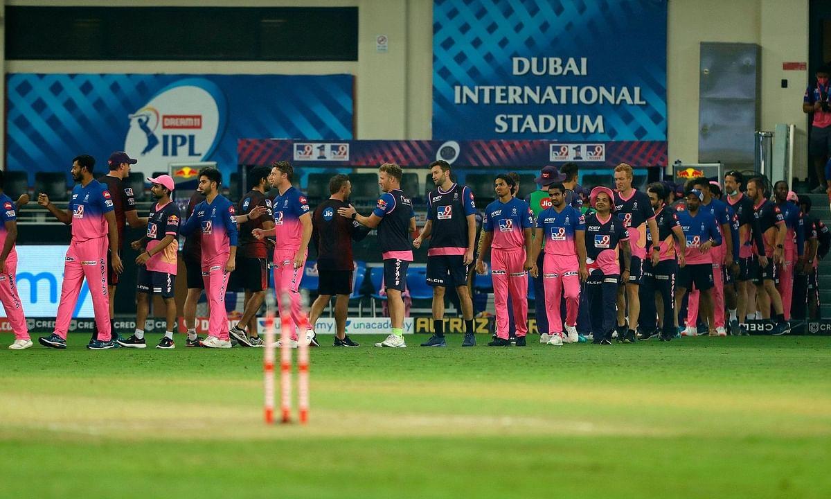 IPL-13: हार के चलते राजस्थान रॉयल्स प्लेऑफ से बाहर, कोलकाता नाइट राइडर्स 60 रनों से जीता
