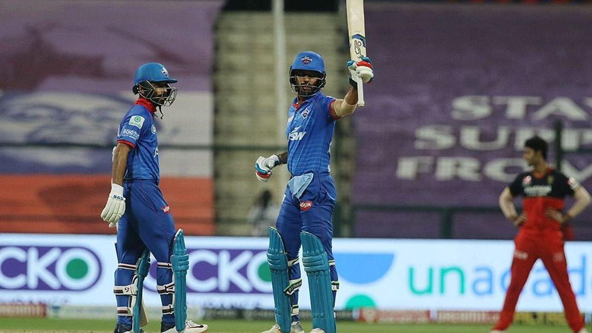 IPL-13: रहाणे-धवन की अर्धशतकीय पारी से जीता दिल्ली कैपिटल्स, रॉयल चैलेंजर्स बैंगलोर को 6 विकेट से हराया