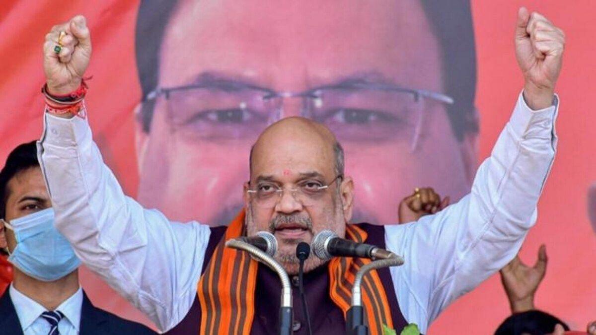 असम में गरजे अमित शाह, बोले भाजपा सरकार ही खत्म कर सकती है घुसपैठ