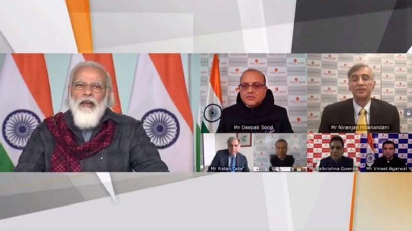 मोदी का उद्योग जगत से आह्वान, रिसर्च पर ध्यान दें और 'आत्मनिर्भर भारत' के लिए निवेश बढ़ाएं