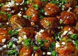 Recipe : Veg Manchurian (वेज मंचूरियन )