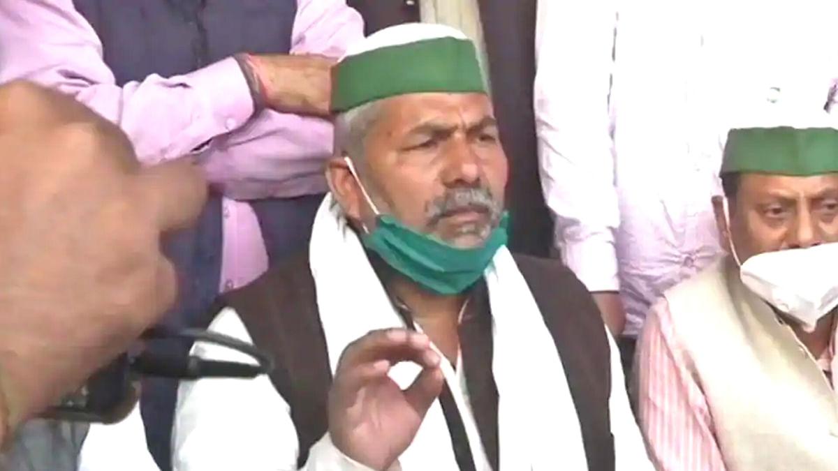 राकेश टिकैत ने कहा, सरकार जहां चाहे वहां बातचीत को तैयार हैं किसान नेता