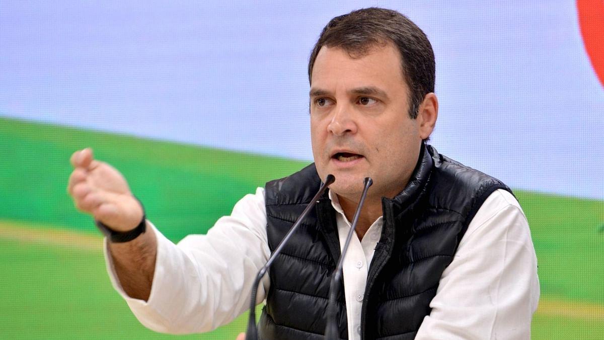 राहुल गांधी का मोदी सरकार पर निशाना, 20 लाख करोड़ के पैकेज को 'कोरोना जुमला' बताया