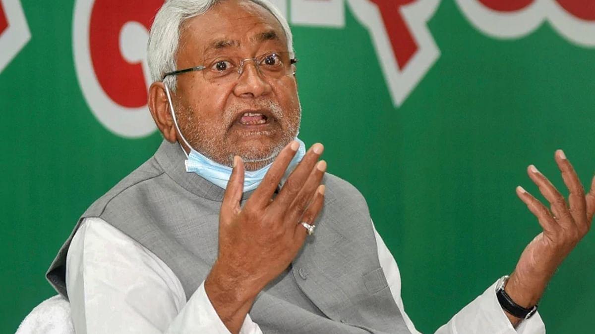 नीतीश कुमार का बड़ा बयान - CM बनने की नहीं थी इच्छा, BJP के दबाव में स्वीकार किया पद