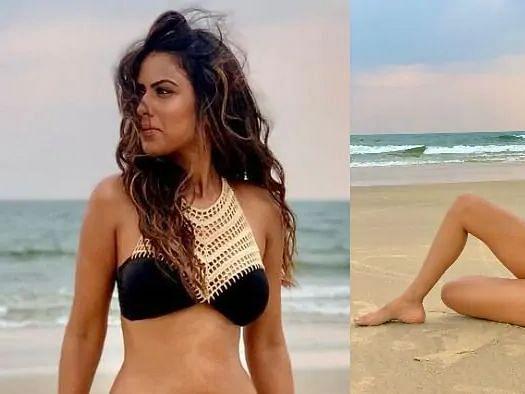 ब्लैक बिकिनी पहन निया शर्मा ने गोवा के समंदर में लगाई आग, फैंस बोले- 'ये भी ठीक है'