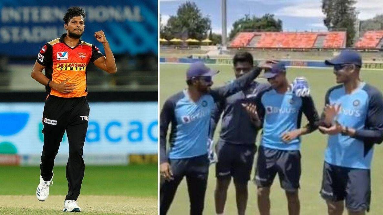 नटराजन हुए भारतीय टीम में शामिल, चोटिल उमेश यादव की जगह मिली टेस्ट टीम में जगह