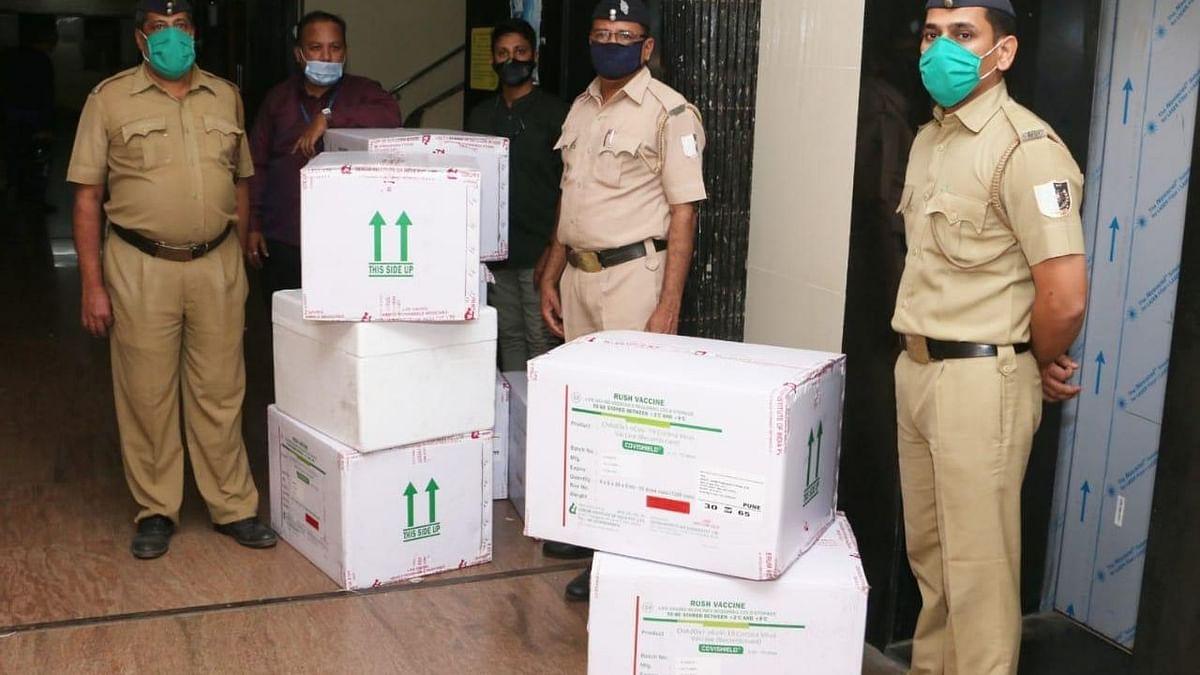 मुंबई पहुंची कोविड वैक्सीन की पहली खेप