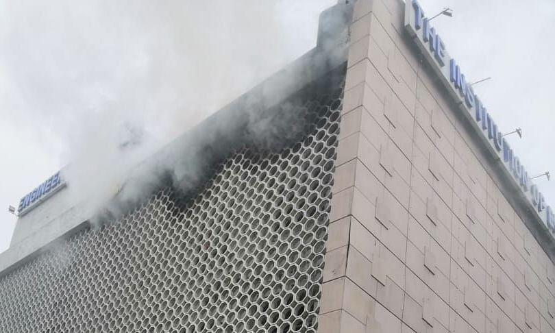 दिल्ली के ITO बिल्डिंग में लगी आग, कोई हताहत नहीं