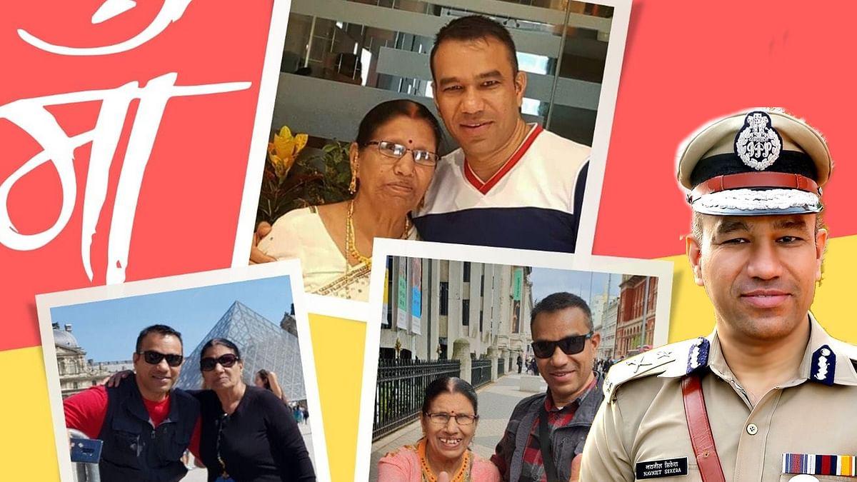 UP : आईपीएस अधिकारियों की प्रोन्नति, ADG बने नवनीत सिकेरा को माँ ने दी सैल्यूट मारकर बधाई