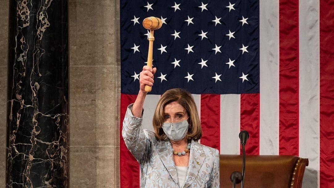 चौथी बार अमेरिका की हाउस स्पीकर चुनी गईं नैंसी पेलोसी