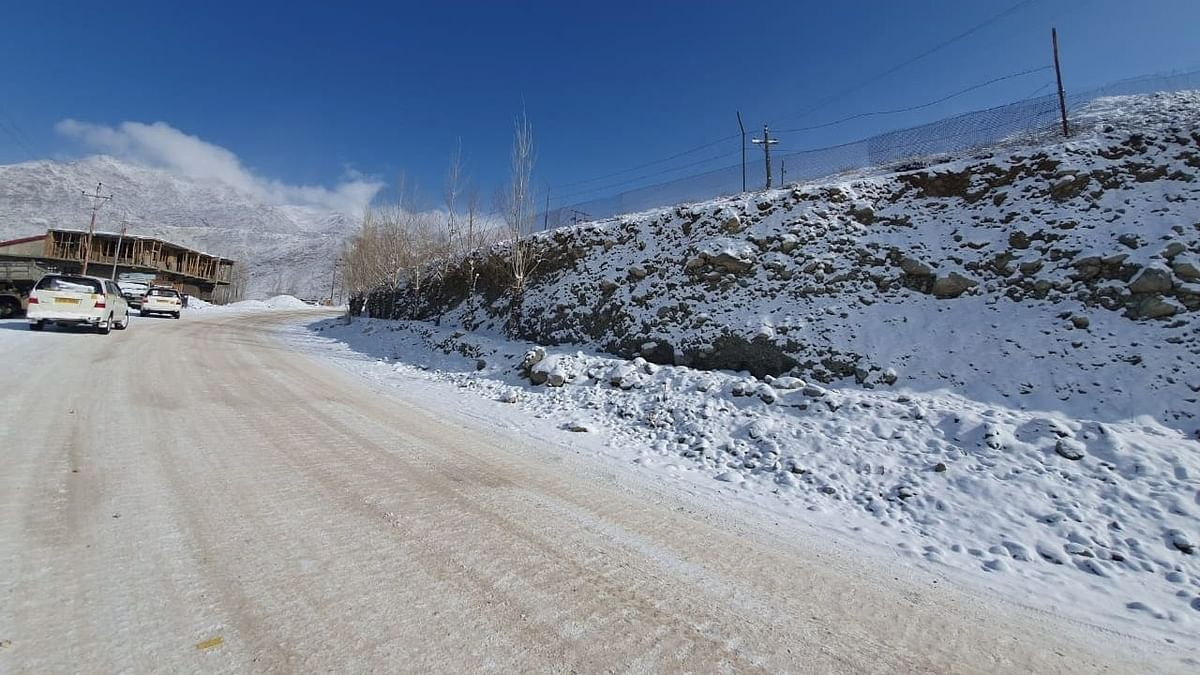 टूरिस्ट हाईवे में बदलेगी लेह से कारगिल की सड़क, हर 25 किमी पर खुलेगा ऑक्सीजन पार्लर