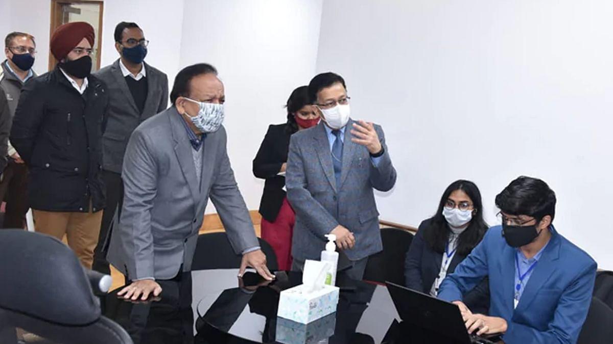 यह कोरोना के अंत की शुरुआत, टीकाकरण पर  बोले डॉ हर्षवर्धन; करी अभियान की तैयारियों की समीक्षा भी