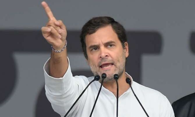 राहुल ने प्रस्तावित ट्रैक्टर रैली को लेकर सरकार के पक्ष पर निशाना साधा