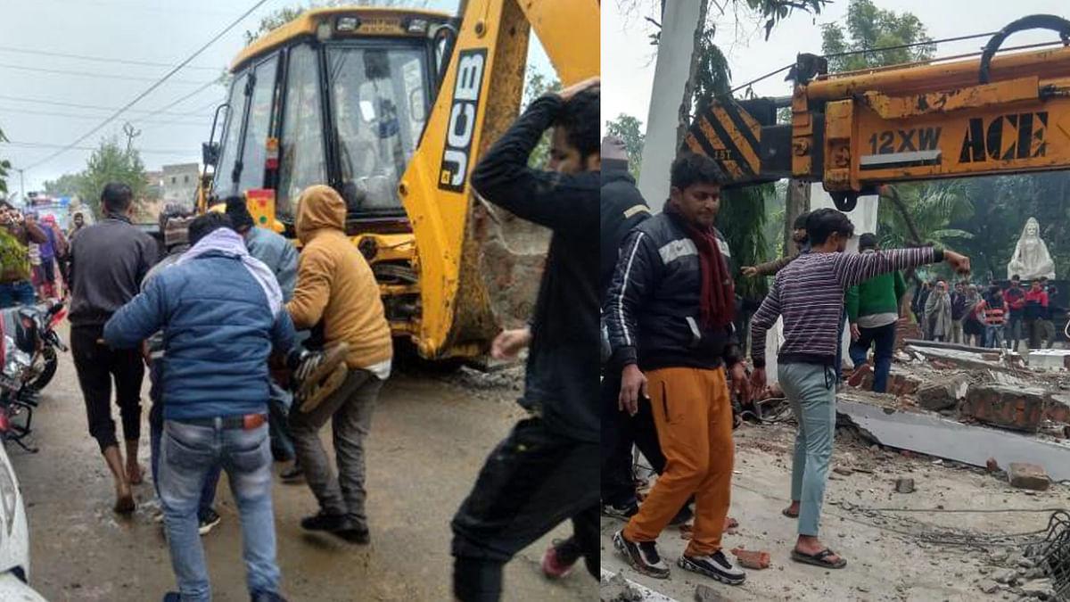 UP : श्मशान घाट की छत गिरने से 16 लोगों की मौत, बढ़ सकती है मृतकों की संख्या, बचाव कार्य जारी