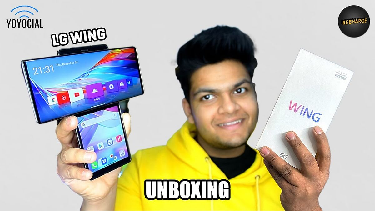 LG Wing Unboxing – Craziest Smartphone Ever ​