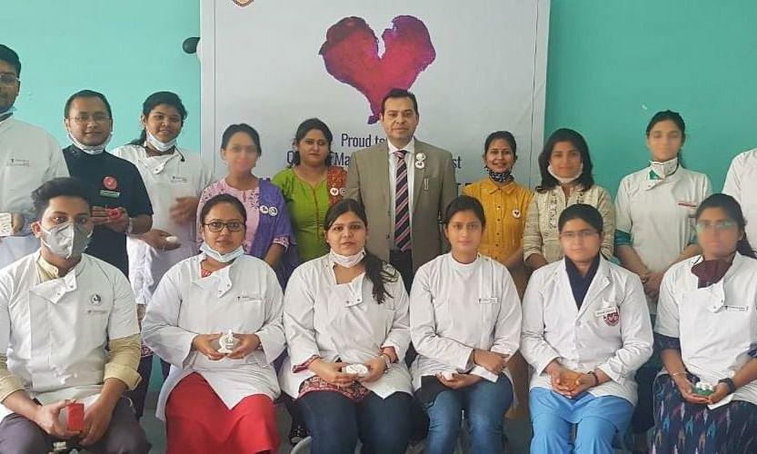 लखनऊ: सरस्वती डेंटल कॉलेज में मनाया गया राष्ट्रीय ओरल पैथोलॉजिस्ट दिवस