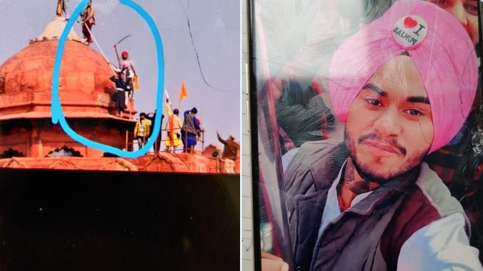 लालकिले की प्राचीर पर चढ़ने वाला जसप्रीत गिरफ्तार