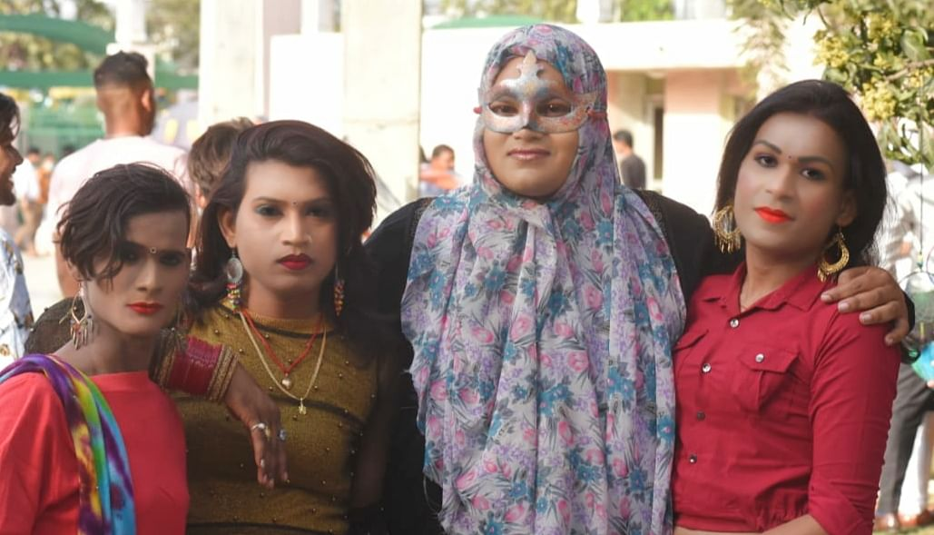 लखनऊ के लोहिया पार्क में हुआ 'अवध क्वीर प्राइड परेड' का आयोजन