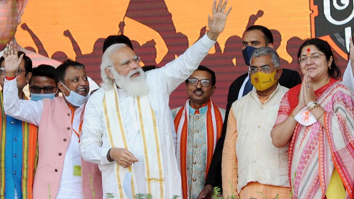 बंगाल के लोगों ने 'परिवर्तन' के लिए अपना मन बना लिया है: PM मोदी