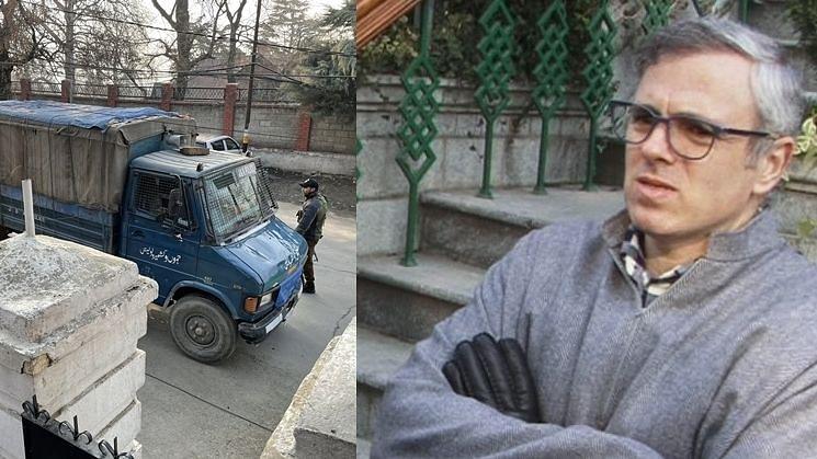 उमर अब्दुल्ला का नजरबंद किए जाने का दावा, पुलिस ने दी सफाई