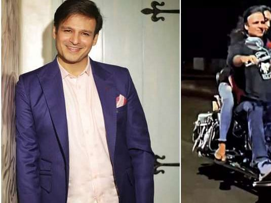 हेलमेट और मास्क ना लगाने पर मुंबई पुलिस ने विवेक ओबरॉय का चालान काटा, अभिनेता बोले 'प्यार हमें किस मोड़ पर ले आया'