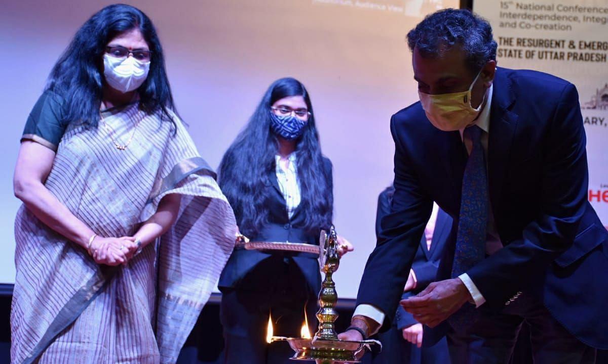 15th IIC Annual Conference का लखनऊ के जयपुरिया संस्थान में हुआ शुभारंभ
