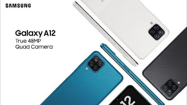 Samsung galaxy A12 भारत में 12,999 रुपये में लॉन्च