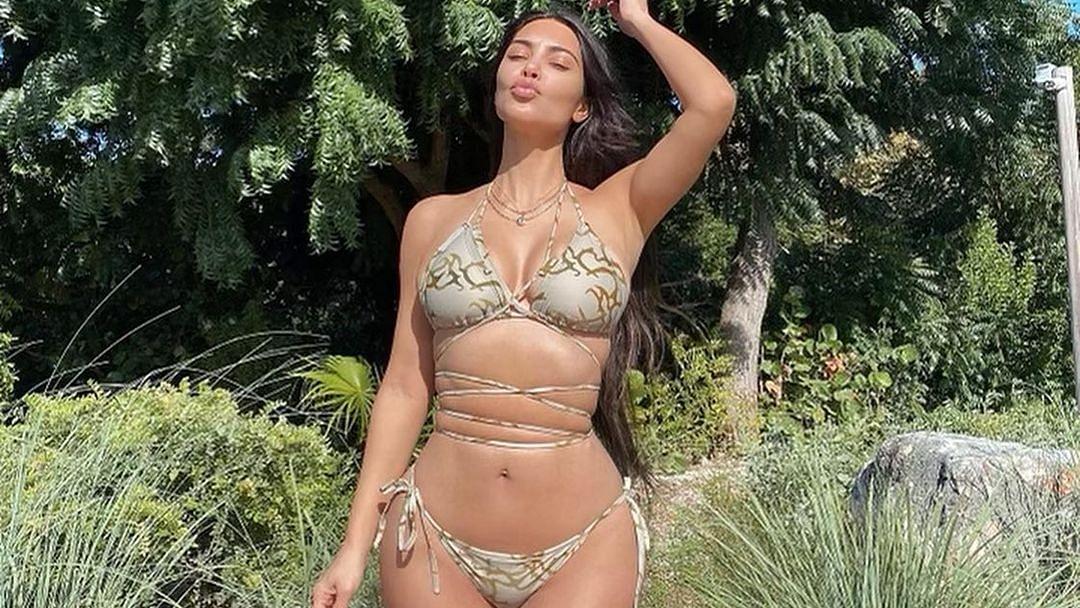 एक्ट्रेस किम कार्दशियन ने बिकिनी में बरपया कहर, फैंस बोले 'तुमसा खूबसूरत कोई और नहीं'