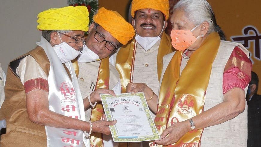 पढ़ने और सीखने की कोई उम्र नहीं: उज्जैन में 80 वर्ष की महिला ने संस्कृत में हासिल की PHD की डिग्री