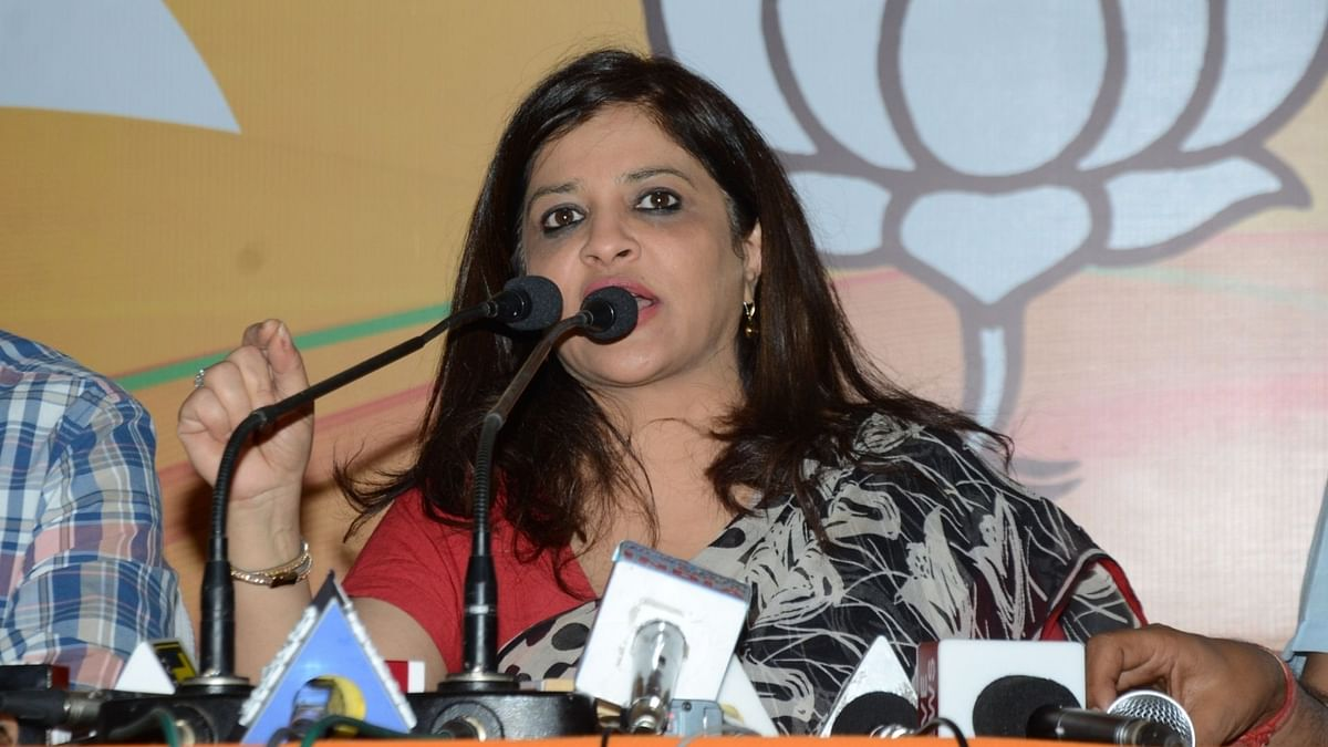 शाजिया इल्मी ने पूर्व BSP सांसद के खिलाफ दर्ज कराई FIR, लगाया बदसलूकी का आरोप