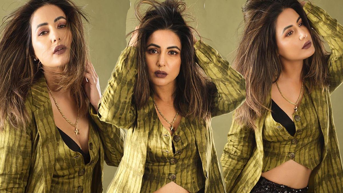 ग्रीन ड्रेस में दिखा हिना खान का कातिलाना अंदाज़, फैंस कर रहे इस ग्लैमरस लुक की जमकर तारीफ