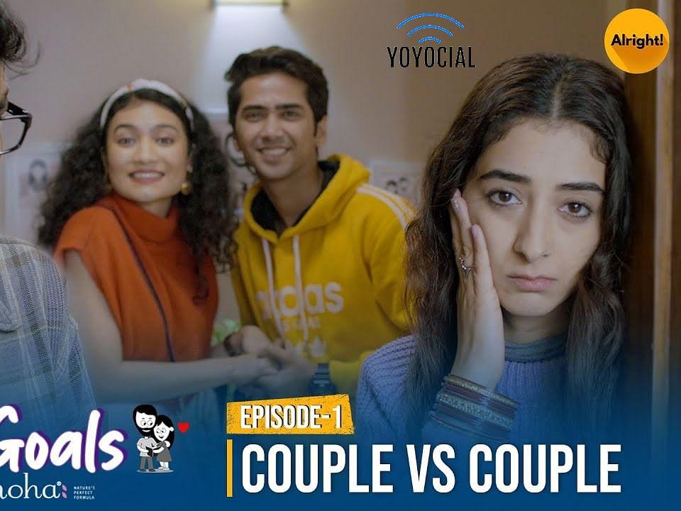 Couple Goals | Couple vs Couple | Mini Web Series | Nikhil Vijay & Kritika Avasthi | Alright!