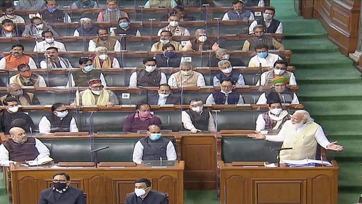 लोकसभा में बोले PM मोदी: 21वीं सदी में 18वीं सदी की सोच से नहीं हो सकता किसानों का भला