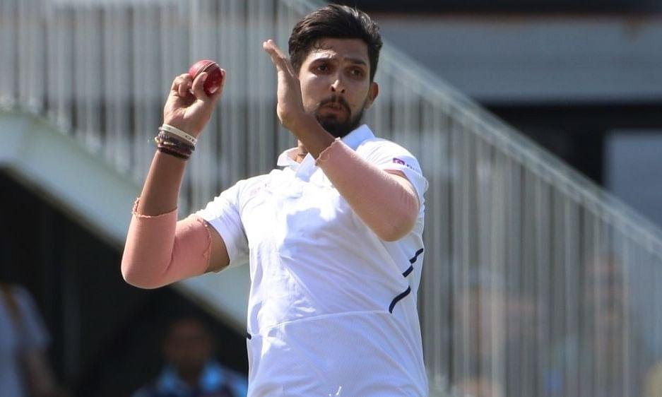 टेस्ट में 300 विकेट लेने वाले तीसरे भारतीय तेज गेंदबाज बने इशांत