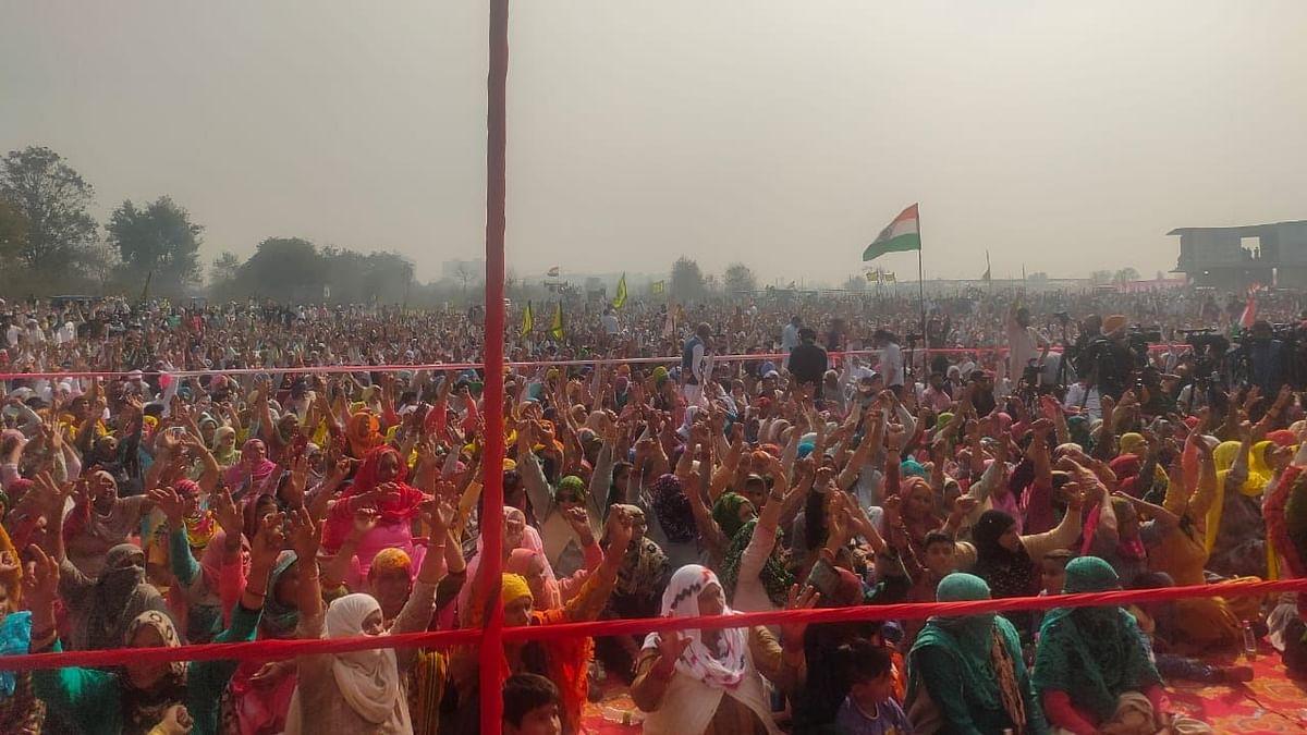 भारतीय किसान यूनियन नेता ने दिल्ली पुलिस को पंजाब में न घुसने की दी चेतावनी