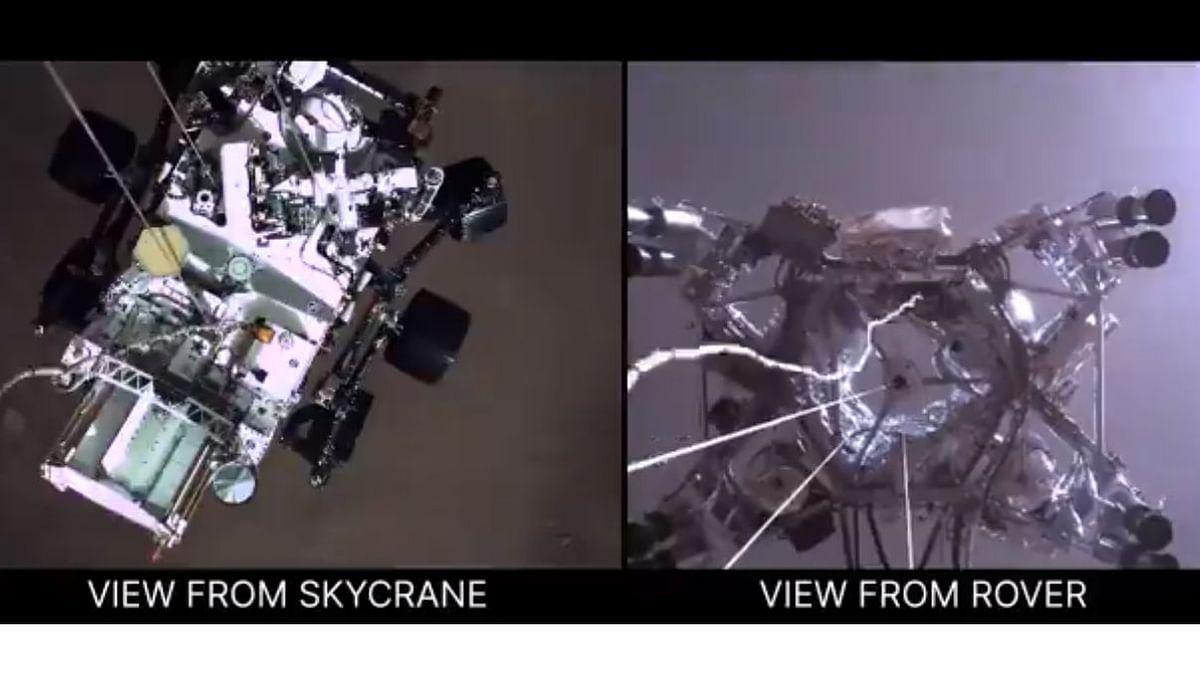 नासा ने मंगल ग्रह से ऑडियो भेजा, लैंडिंग का वीडियो भी जारी