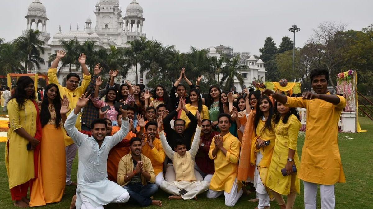 लखनऊ के किंग जार्ज मेडिकल यूनिवर्सिटी में हुआ 109वें सरस्वती पूजा का आयोजन
