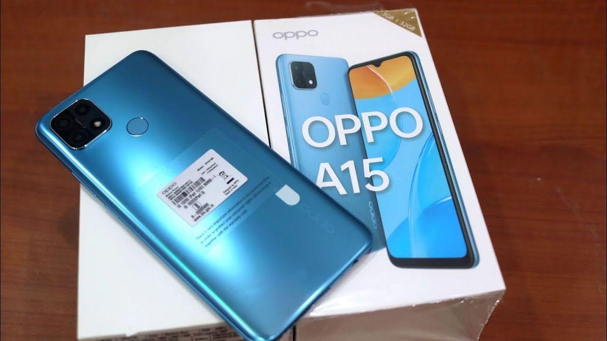 Oppo A 15 का नया स्टोरेज वेरिएंट हुआ लॉन्च, कीमत 12,490 रुपये