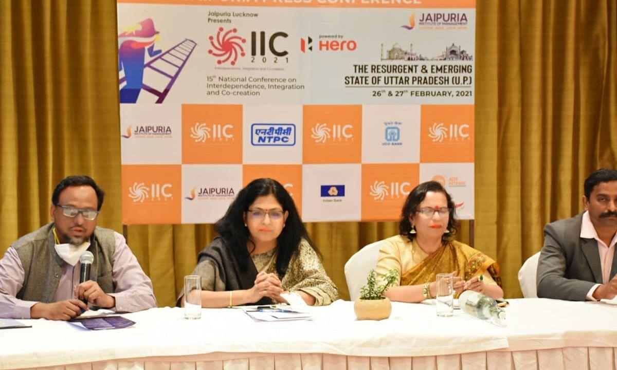 दो दिवसीय 15th IIC Annual Conference जयपुरिया संस्थान लखनऊ में आज से शुरू