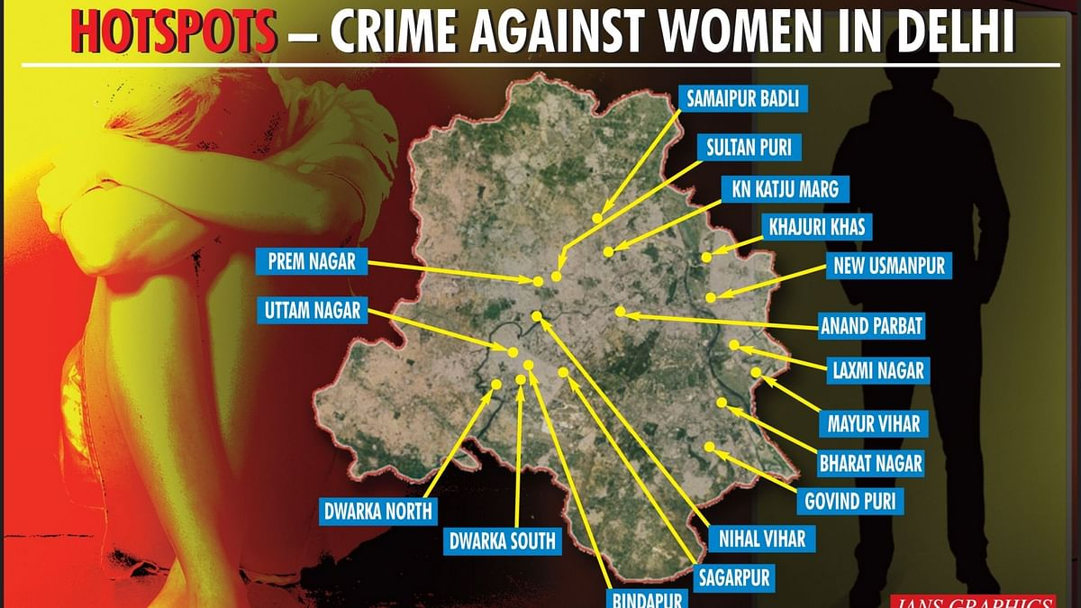 17 हॉटस्पॉट, जो दिल्ली में महिलाओं के लिए संवेदनशील हैं, रखें इन जगहों पर खास ध्यान