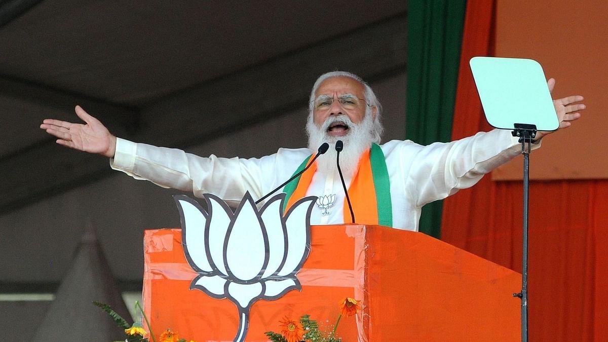 द्रमुक-कांग्रेस जीते तो वे महिलाओं का और अधिक अपमान करेंगे: नरेंद्र मोदी