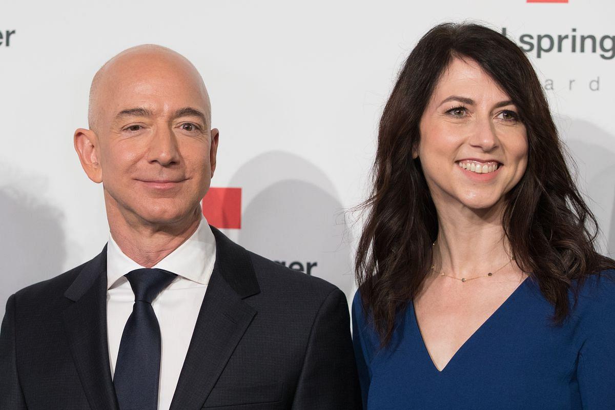 Jeff Bezos & Mackenzie Scott