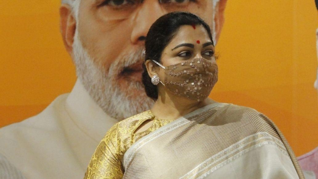 तमिलनाडु चुनाव : भाजपा ने खुशबू को थाउजेंड लाइट्स क्षेत्र से मैदान में उतारा