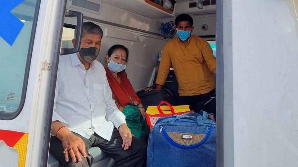 उत्तराखंड: तबीयत बिगड़ने से पूर्व मुख्यमंत्री हरीश रावत किए गए दिल्ली AIIMS रेफर